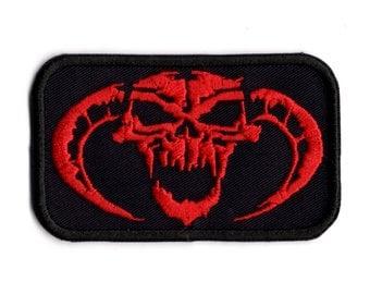 Demon Skull iron  on patch