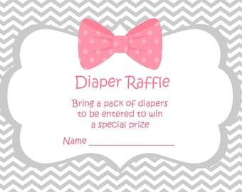 Baby Shower Raffle Tickets - Diaper Raffle Tickets - Games For Baby Shower - A Baby Game - Raffle Template - Baby Shower Prizes 397