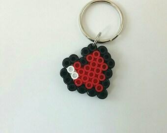 Zelda Heart Keychain