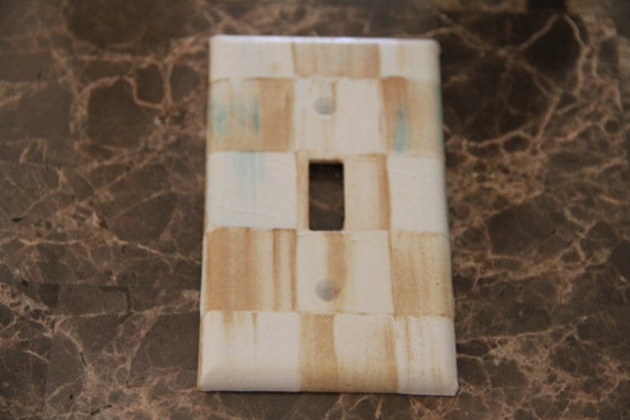 Custom Switch Plate Outlet Covers Made With Mackenzie Childs
