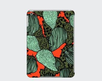 Funky Cactus iPad Case Cover for iPad Mini iPad Air and iPad 2 3 and 4, Orange