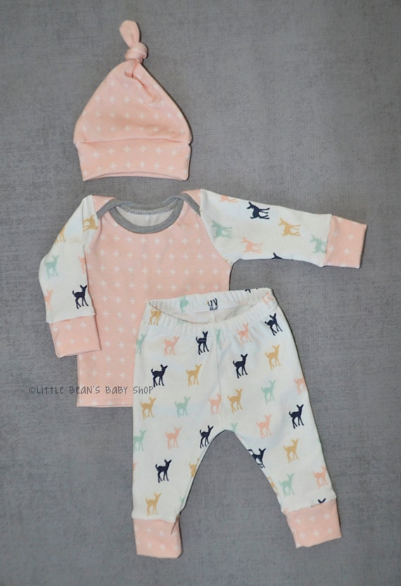 Baby Girl Outfits and Sets. Adorable coming home outfits! Our unique newborn and preemie baby girl clothes are very soft. % cotton interlock knit. Easy dressing, nothing is ever. pulled over your baby's head. 4 Clothing Sizes for Micro Preemies, Preemie and Newborn Babies.