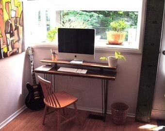 Black Walnut Live Edge Desk/Console Table