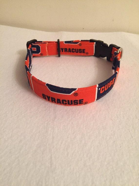 Syracuse University Dog Collar
