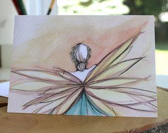 Fairy #1 greeting card