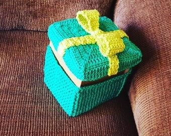 Crochet  gift box