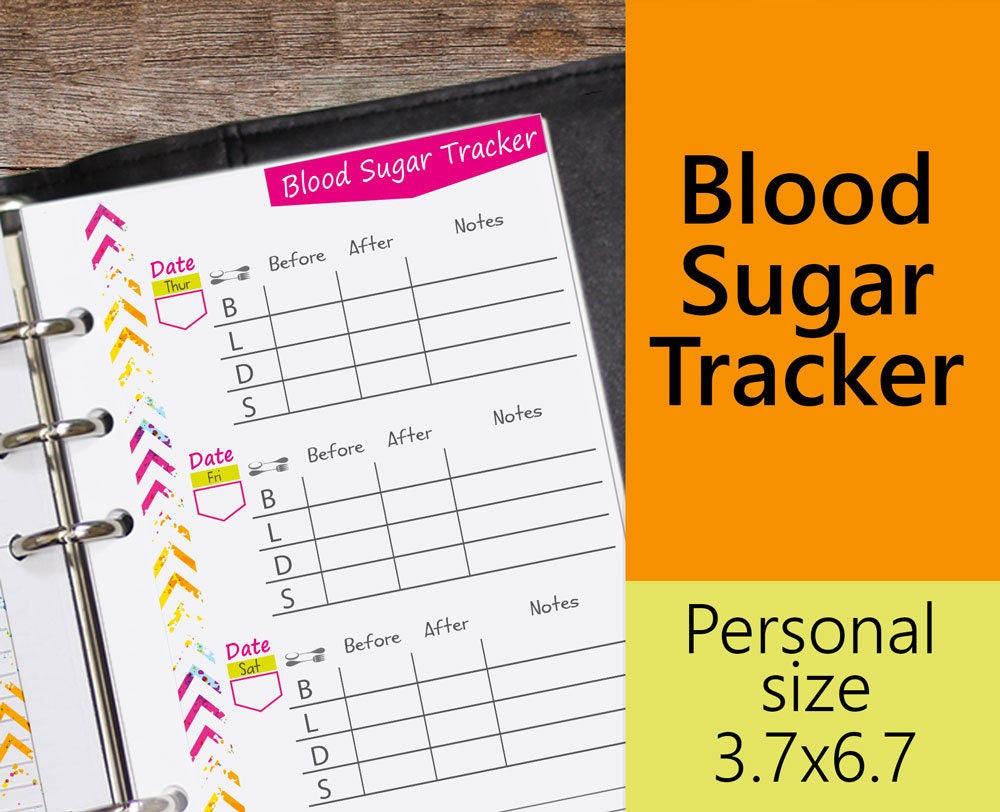 tracking blood glucose