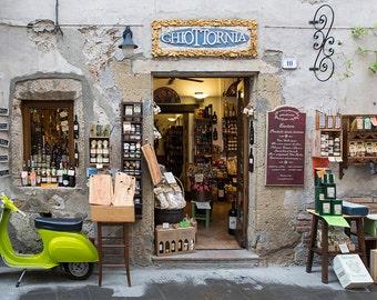 Italy Photography, Italian Delicatessan, Pitigliano, Gallery Wall Art, Tuscany Photography, Summer In Italy, Romantic Italy, Beautiful Italy