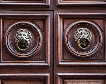 Roman Door Handles, Italy Photography, Rome Architecture, Gallery Wall Art, Michael Evans, Summer In Italy, Romantic Italy, Abstract