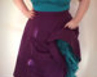 Made to measure - purple skirt or more