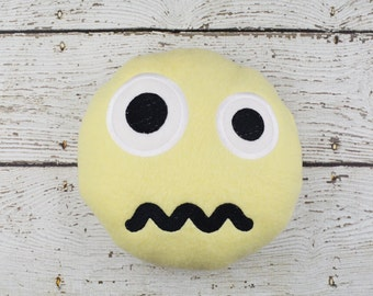 Confounded Emoji Plushie