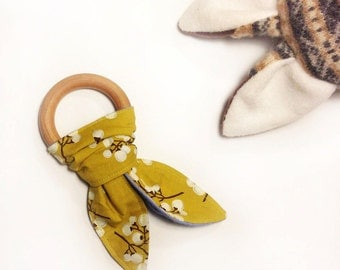 Eco-Friendly Maple Baby Teething Ring
