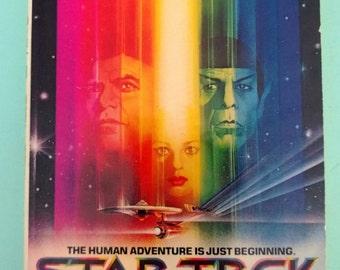 Vintage Star Trek The Motion Picture Paperback Gene Roddenberry 1979 Free Shipping