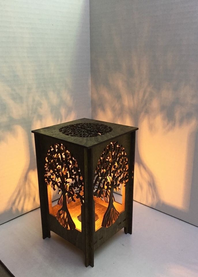Free Shipping Table Lamp Lamp Desk Light Laser Cut
