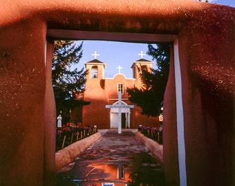 St Francis - Ranchos de Taos 16X20 Gallery wrapped canvas photo print