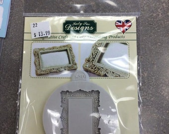 Katy Sue Vintage Miniature Frame Mould