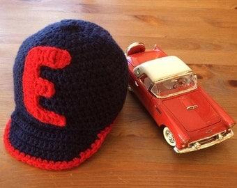 Crochet baseball cap, customizable