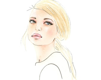 Daphne Groeneveld - Fashion Illustration