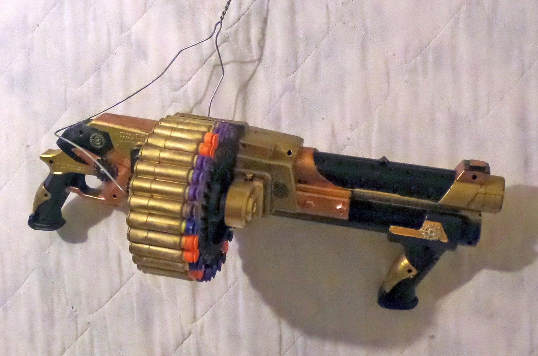 nerf barrel machine gun