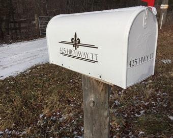 Decorative Mailbox Decal