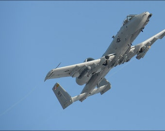 24x36 Poster . A-10C Thunderbolt Ii Warthog Maryland Air National Guard