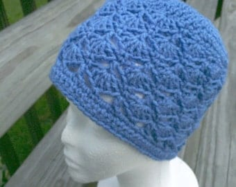Shell's Lacy Shell Beanie hat