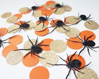 Halloween Spider Confetti