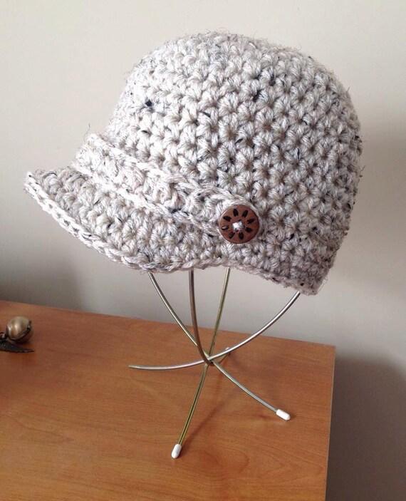 Free Crochet Chunky Newsboy Hat Pattern : Chunky Crocheted Newsboy Hat Pattern