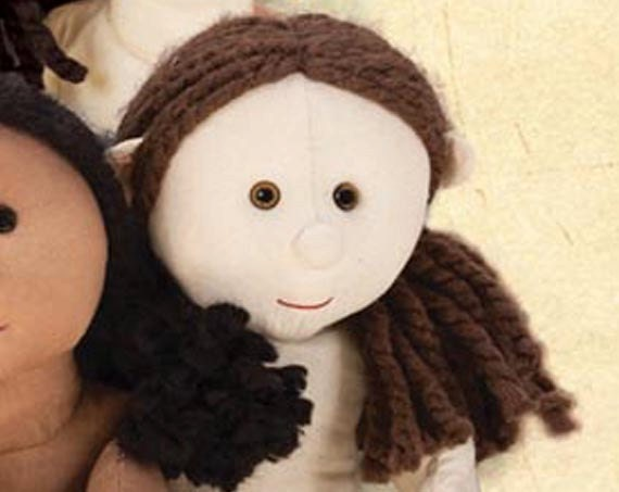 how to make rag doll hair