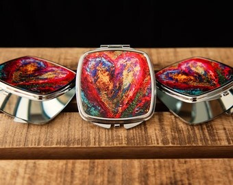 Compact Mirrors Original Art by Christie Smith