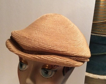 50% Off Sale Vintage Straw Hat 1940's