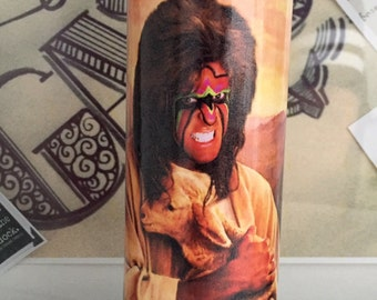 St Ultimate Warrior Prayer Candle