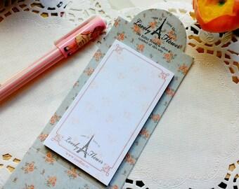 Yoofun Cute EIFFEL TOWER  Memo Pad/ Desk Notepad/Flower Sticker Notes/1 PC