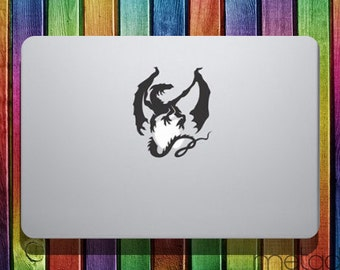 "Dragon Macbook Sticker Decal Sticker for 12"" 13"" 15"" 17"" Macbook laptop stickers, macbook stickers, macbook decals, Game of Thrones"