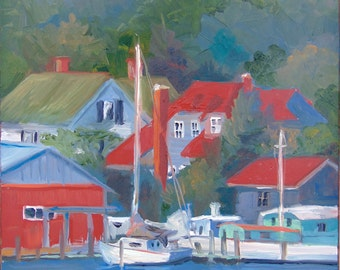 Red Roofs of Reedville