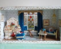 Ottoman style living room