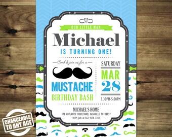 Little Man Mustache Birthday Invitation Bday_inv_049