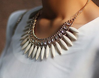 Rhinestone Statement necklace