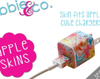 Watercolor Bloom Apple iPhone Charger Skin!!!
