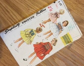 Simplicity Vintage Pattern - Child's Dress