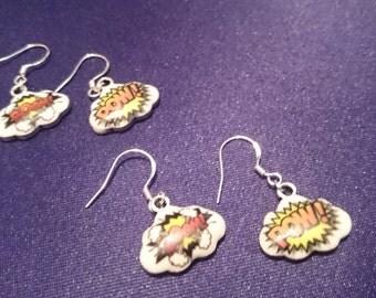 Boom Pow earrings