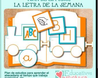 La letra de la semana - español -