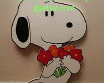 Snoopy Outdoor Garden Yard Art