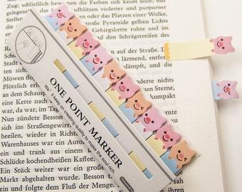 "Haftmarker ""pig"" / Filofaxing / sticky note"