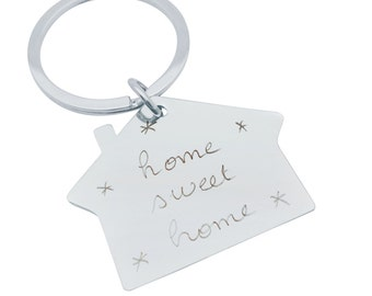 Keychain house custom for MOM, sister, friend...