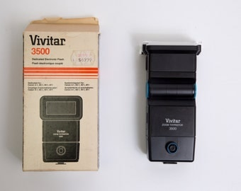 SALE!! - Early 1980's Vivitar 3500 Camera Flash