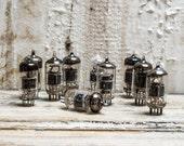 Vintage Vacuum Tubes set of 10/ Steampunk supplies / Altered Art / Radio Components / Radio Lamp / rare finds / Soviet vintage