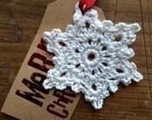 6 Handmade Snowflake Christmas Decorations