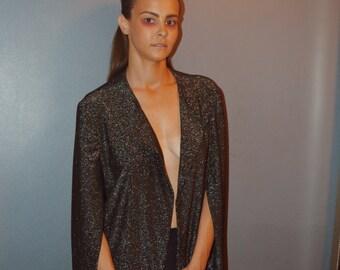 90s Glitter Blazer Dress