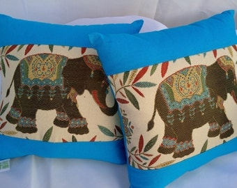 Elephant Pillow 13x13~
